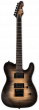ESP LTD TE-1000 Evertune Black Natural Burst Electric Guitar sku number LTE1000ETFMBLKNB