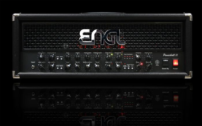 ENGL Amps POWERBALL II E645/2 100 Watt HEAD sku number E645/2