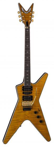 Dean ML Switchblade Floyd HSH Trans Amber Electric Guitar ML SB F TAM ML SB F TAM