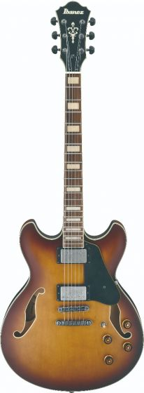 Ibanez ASV73 VLL ASV Artcore Vintage Violin Sunburst Low Gloss Semi-Hollow Body Electric Guitar sku number ASV73VLL