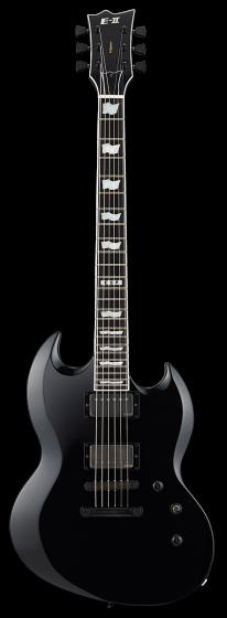 ESP E-II Viper Black Electric Guitar w/Case sku number EIIVIPERBLK