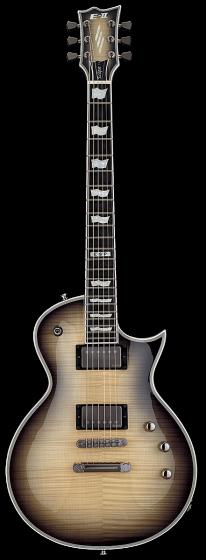 ESP E-II Eclipse Full Thickness Black Natural Burst Electric Guitar w/Case EIIECFTFMBLKNB