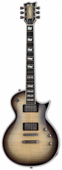 ESP E-II Eclipse Full Thickness Black Natural Burst Electric Guitar w/Case sku number EIIECFTFMBLKNB