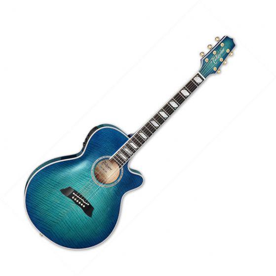 Takamine TSP178AC SBB Acoustic Electric Guitar Gloss See-Thru Blue Burst TAKTSP178ACSBB
