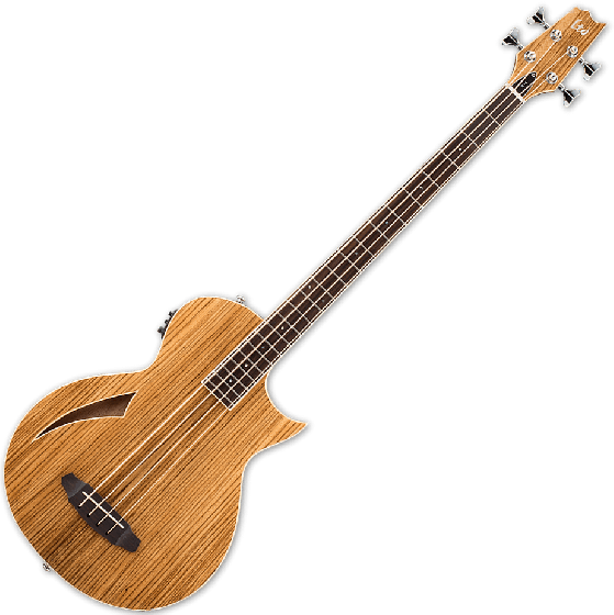 ESP LTD TL-4Z Thinline Acoustic Electric Bass in Natural Finish LTL4ZNAT