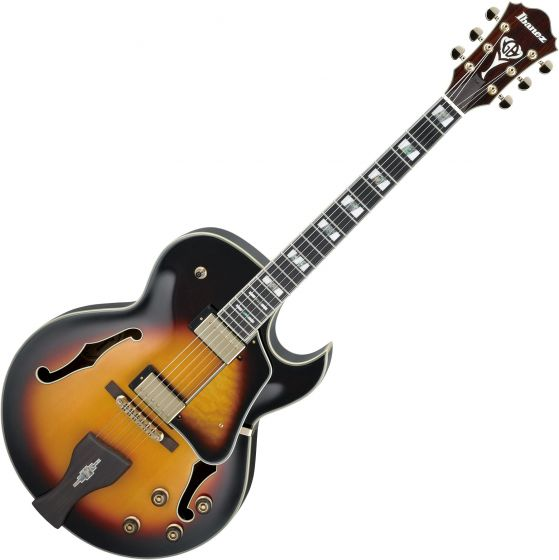 Ibanez Signature George Benson LGB30 Hollow Body Electric Guitar Vintage Yellow Sunburst LGB30VYS