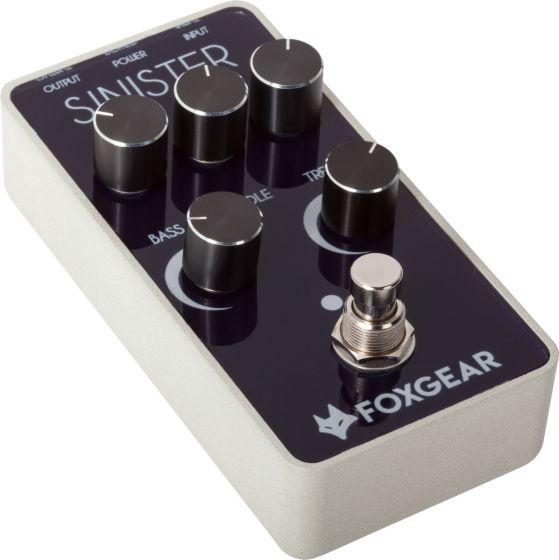 FoxGear Sinister Metal Distortion Pedal FOX-SIN