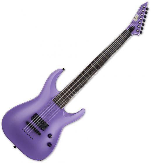 ESP STEF BARITONE-7 1 HUM Stephen Carpenter Electric Guitar Purple Satin sku number ESTEFB71HPS