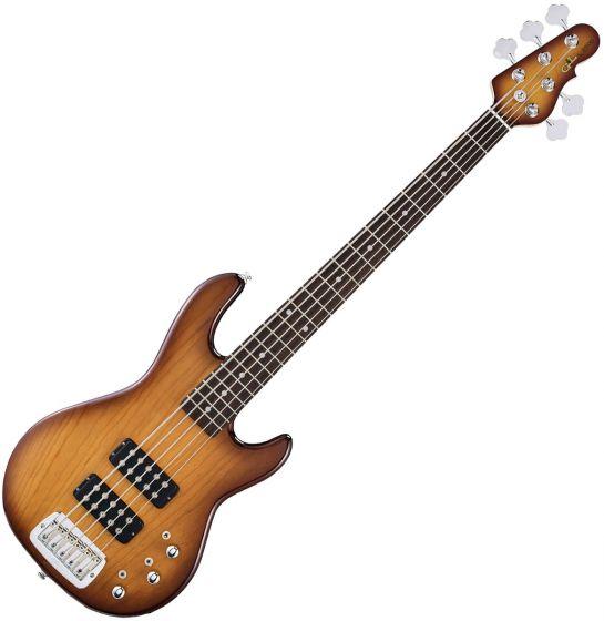 G&L Tribute L-2500 Bass Guitar in Tobacco Sunburst Finish TI-L25-TSB