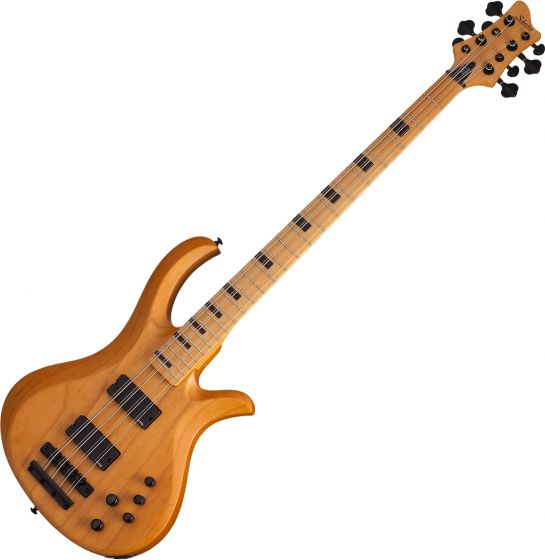 Schecter Riot-8 Session Electric Bass Aged Natural Satin SCHECTER2844