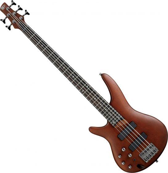 Ibanez SR Standard SR505L Left-Handed 5 String Electric Bass Brown Mahogany SR505BML
