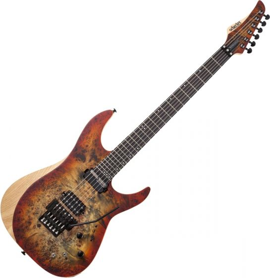Schecter Reaper-6 FR S Electric Guitar in Satin Inferno Burst sku number SCHECTER1508