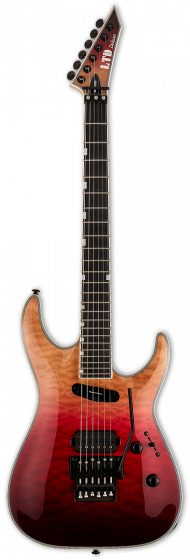 ESP LTD MH-1000HS Black Cherry Fade Electric Guitar LMH1000HSQMBCHFD
