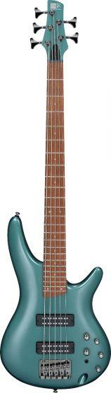 Ibanez SR Standard SR305E 5 String Metallic Sage Green Bass Guitar SR305EMSG