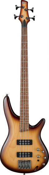 Ibanez SR Standard SR370E 4 String Natural Browned Burst Bass Guitar sku number SR370ENNB