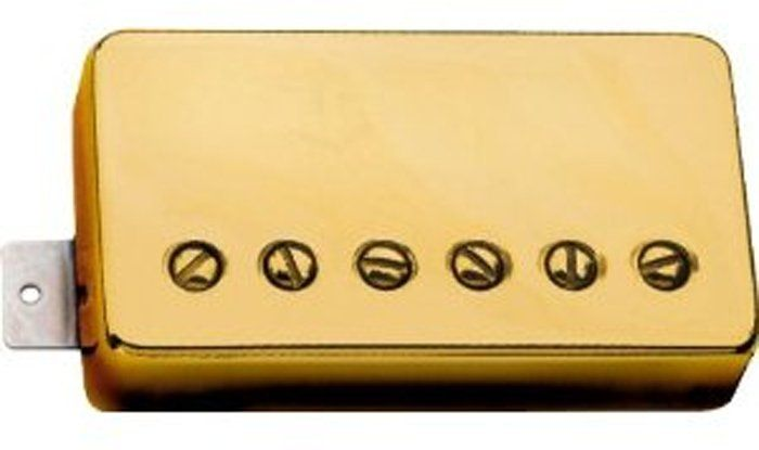 Seymour Duncan Humbucker APH-1N Alnico 2 Pro Neck Pickup Gold Cover 11104-01-Gc