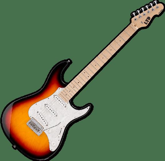 ESP LTD SN-200W Electric Guitar in Tobacco Sunburst LSN200WM3TB
