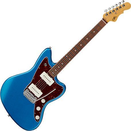 G&L Fullerton Deluxe Doheny Electric Guitar Lake Placid Blue FD-DOH-LPB-CR