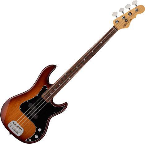 G&L Fullerton Deluxe LB-100 Electric Bass Old School Tobacco Sunburst FD-LB1-OST-CR