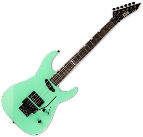 ESP LTD Mirage Deluxe '87 Electric Guitar Turquoise LMIRAGEDX87TURQ