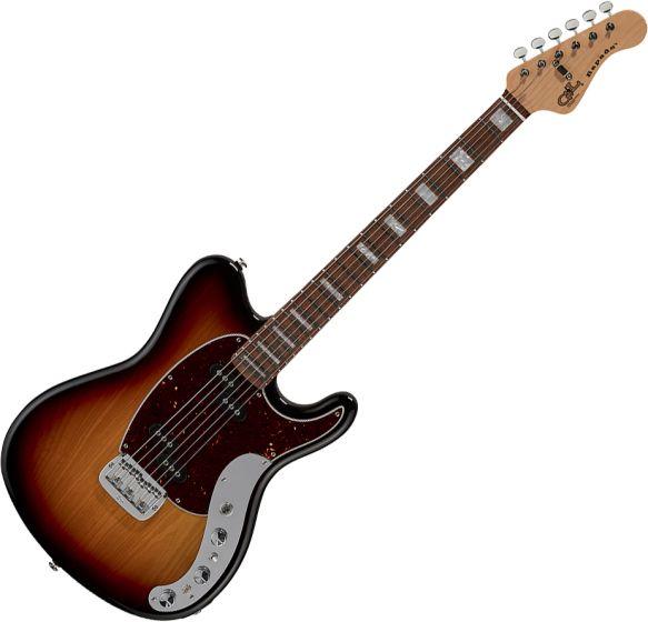 G&L CLF Research Espada Electric Guitar Old School Tobacco sku number ESPADA-CLF-3TS-CR