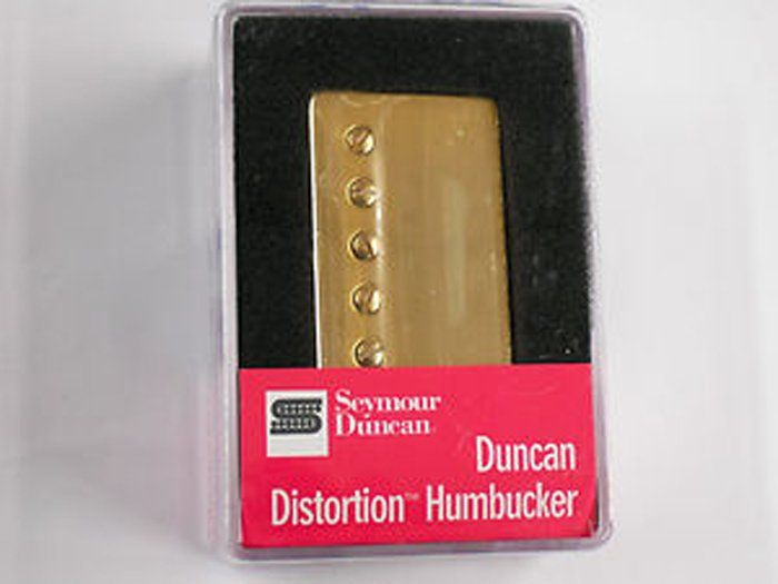 Seymour Duncan Humbucker SH-6N Duncan Distortion Neck Pickup Gold Cover 11102-25-Gc