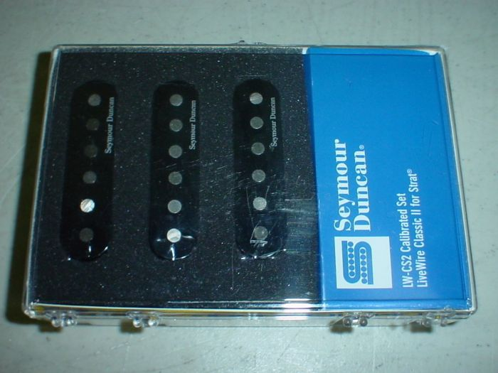 Seymour Duncan LW-CS2S Live Wire Classic 2 for Strat Pickup Set 11206-09