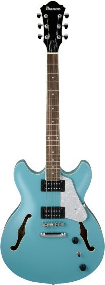 Ibanez AS63 MTB AS Artcore Vibrante Mint Blue Semi-Hollow Body Electric Guitar sku number AS63MTB