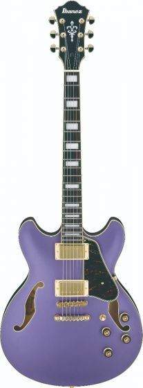 Ibanez AS73G MPF AS Artcore Metallic Purple Flat Semi-Hollow Body Electric Guitar sku number AS73GMPF