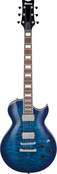 Ibanez ART120QA TBB ART Standard Transparent Blue Burst Electric Guitar sku number ART120QATBB