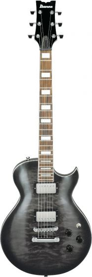 Ibanez ART120QA TKS ART Standard Transparent Black Sunburst Electric Guitar sku number ART120QATKS