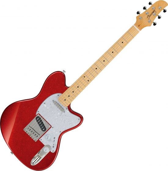 Ibanez Talman Standard TM302PM Electric Guitar Red Sparkle TM302PMRSP