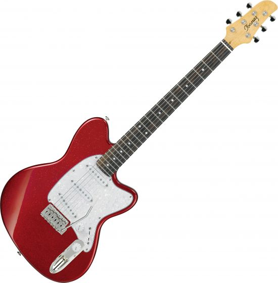 Ibanez Talman Standard TM330P Electric Guitar Red Sparkle TM330PRSP