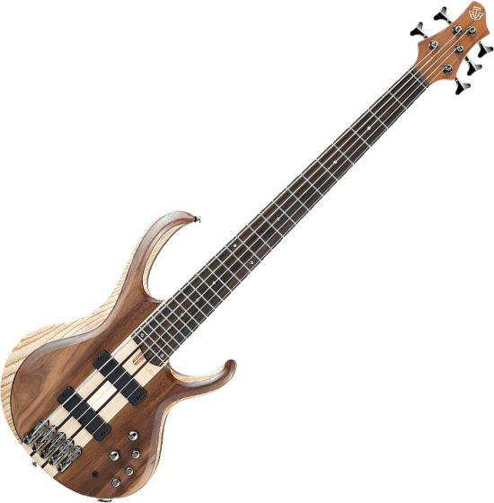 Ibanez BTB Standard BTB745 5 String Electric Bass Natural Low Gloss BTB745NTL