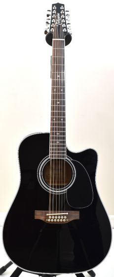 Takamine EF381SC 12 String Acoustic Guitar in Gloss Black B-Stock 0265 TAKEF381SC.B 0265