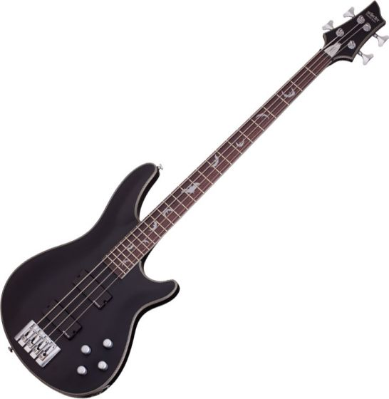 Schecter Damien Platinum-4 Electric Bass Satin Black SCHECTER1200