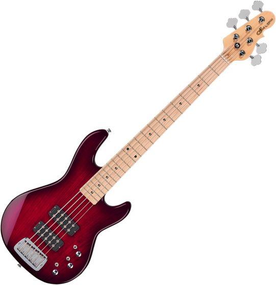 G&L Tribute L-2500 Electric Bass Redburst TI-L25-121R23M00