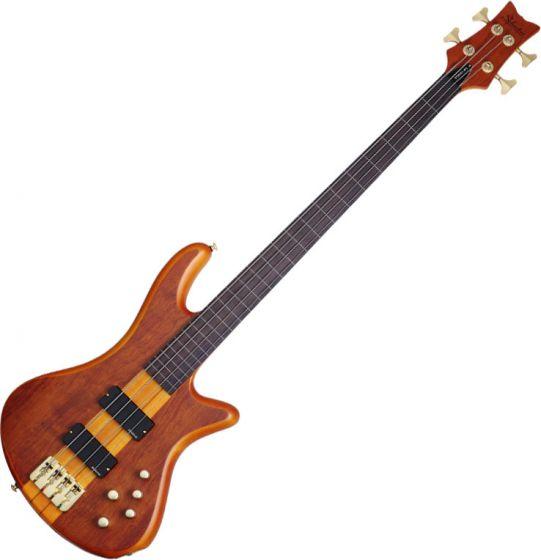 Schecter Stiletto Studio-4 FL Electric Bass Honey Satin SCHECTER2750