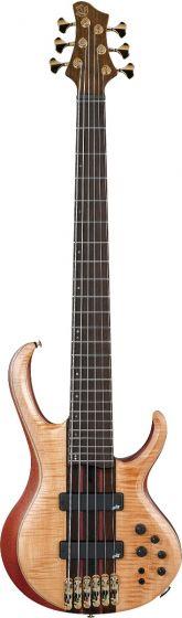 Ibanez BTB1906 Premium 6 String Florid Natural Low Gloss Bass Guitar BTB1906FNL