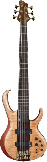 Ibanez BTB1906 Premium 6 String Florid Natural Low Gloss Bass Guitar sku number BTB1906FNL