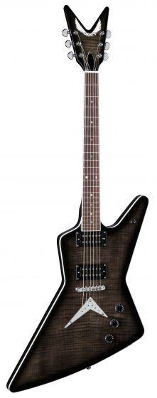Dean Z 79 Flame Top Trans Black Electric Guitar Z 79 TBK Z 79 TBK