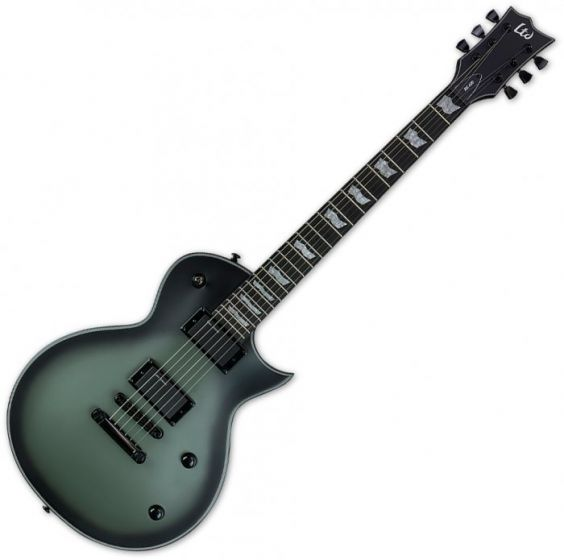 ESP LTD Bill Kelliher BK-600 Electric Guitar in Military Green Burst Satin LBK600MGSBS