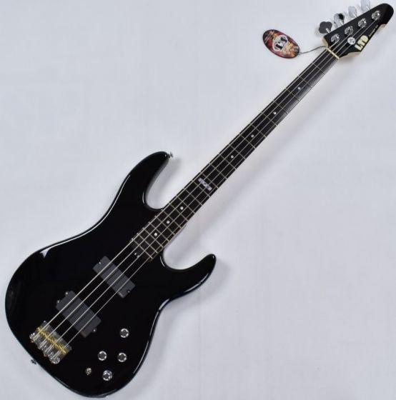 ESP LTD Surveyor 414 4 String Electric Bass in Black LSURV414QMBLK