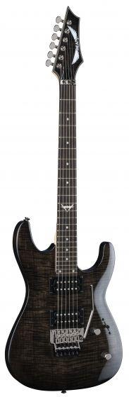 Dean Custom 350 Floyd Trans Black Electric Guitar C350F TBK C350F TBK