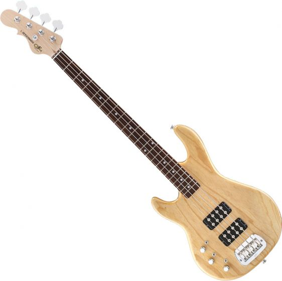G&L Tribute L-2000 Lefty Bass in Natural with Rosewood Fingerboard TI-L20-LH-NAT