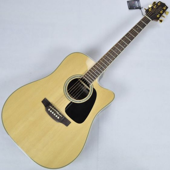 Takamine GD51CE-NAT G-Series G50 Cutaway Acoustic Electric Guitar in Natural Finish TAKGD51CENAT