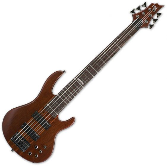 ESP LTD D-6 Bass in Natural Stain sku number LD6NS