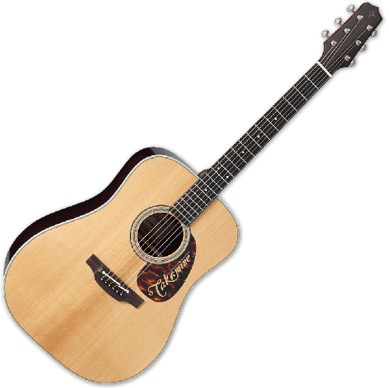 Takamine EF360STT Thermal Top Acoustic Guitar in Natural Finish TAKEF360STT