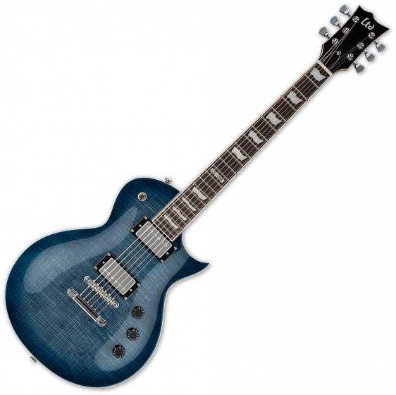 ESP LTD EC-256FM Flamed Maple Top Electric Guitar Cobalt Blue B-Stock LEC256CB.B