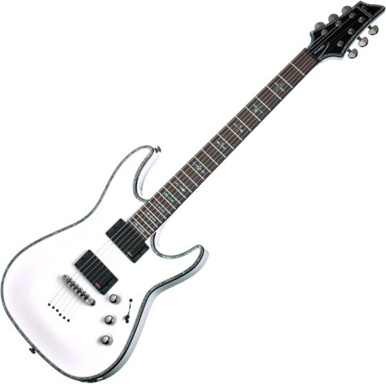 Schecter Hellraiser C-1 Electric Guitar Gloss White SCHECTER1808